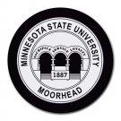Minnesota State University Moorhead Heat-Resistant Round Mousepad