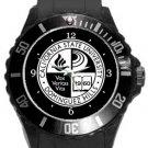 California State University Dominguez Hills Plastic Sport Watch In Black