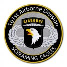 101st Airborne Division Screaming Eagles Heat-Resistant Round Mousepad