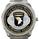 101st Airborne Division Screaming Eagles Sport Metal Watch