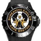 Screaming Eagles Cape Breton Plastic Sport Watch In Black
