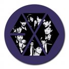 EXO Korean Band Members Heat-Resistant Round Mousepad
