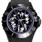 EXO Korean Band Members Plastic Sport Watch In Black