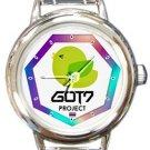 Cute GOT7 Project Round Italian Charm Watch