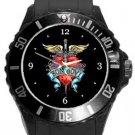 Bon Jovi Plastic Sport Watch In Black
