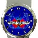 Journey Money Clip Watch