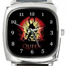 Queen Freddie Mercury Square Metal Watch
