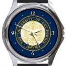 The University of California Davis Round Metal Watch