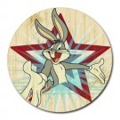 Bugs Bunny The Superstar Heat-Resistant Round Mousepad