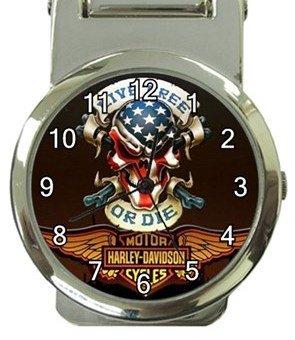Super Cool Harley Money Clip Watch