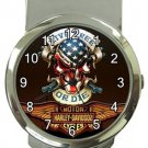Super Cool Harley Money Clip Watch