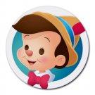Pinocchio Heat-Resistant Round Mousepad