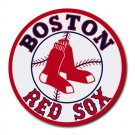 Boston Red Sox Heat-Resistant Round Mousepad