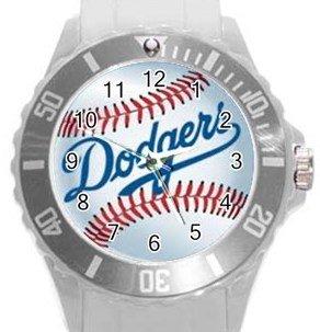 LA Dodgers Plastic Sport Watch In White