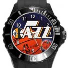 Utah Jazz Plastic Sport Watch In Black