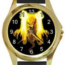 Iron Fist Gold Metal Watch