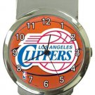 LA Clippers Money Clip Watch