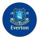 Everton FC Heat-Resistant Round Mousepad