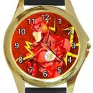 The Flash Gold Metal Watch