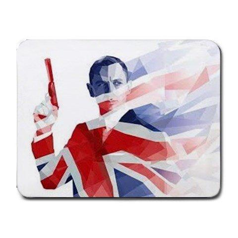 James Bond Heat-Resistant Mousepad
