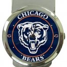 Chicago Bears Money Clip Watch
