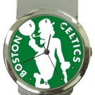 Boston Celtics Money Clip Watch