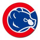 Chicago Cubs Heat-Resistant Round Mousepad