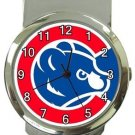 Chicago Cubs Money Clip Watch