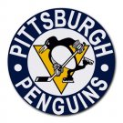 Pittsburgh Penguins Heat-Resistant Round Mousepad