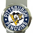 Pittsburgh Penguins Money Clip Watch