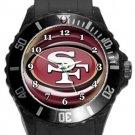 San Francisco 49ers Plastic Sport Watch In Black