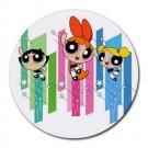The Powerpuff Girls Heat-Resistant Round Mousepad