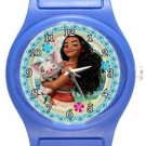 Pretty Moana Blue Plastic Watch