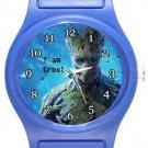 I am Groot Blue Plastic Watch