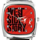 West Side Story Square Metal Watch