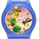 Tinkerbell Blue Plastic Watch