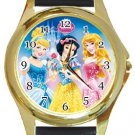 Disney Princesses Gold Metal Watch