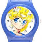 Sailor Moon Blue Plastic Watch