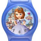 Beautiful Princess Sophia Blue Plastic Watch