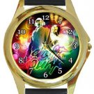 Daft Punk Gold Metal Watch