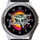 Cool Daft Punk Round Metal Watch