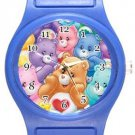 Cute Care Bears Blue Plastic Watch