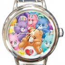 Cute Care Bears Round Italian Charm Watch