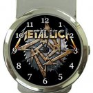 Metallica Money Clip Watch