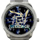 Cool Metallica Logo Sport Metal Watch