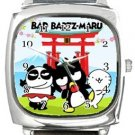 Bad Badz Maru Square Metal Watch