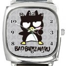 Funny Bad Badz Maru Square Metal Watch