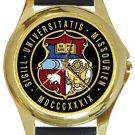 University of Missouri Gold Metal Watch