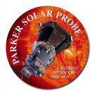 Parker Solar Probe Heat-Resistant Round Mousepad