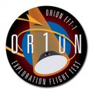 NASA Orion Exploration Flight Test Heat-Resistant Round Mousepad